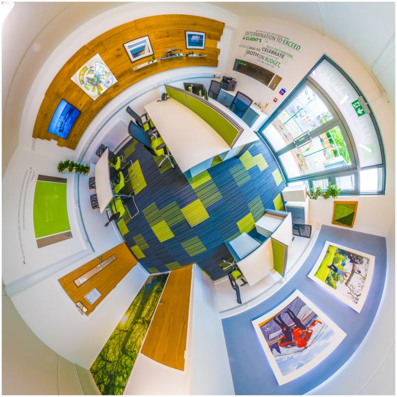 office refurbishment virtual tour